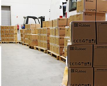 Rubbee shipment
